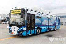 全球首款機場用自動駕駛純電動大巴東京實地測試