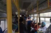 """武汉公交:武汉1151辆公交车变身抗疫""""战车"""""""