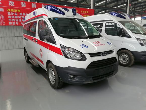 福特120医疗救护车_负压救护车现车