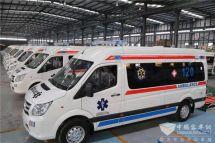 再捐1700万!40辆福田图雅诺救护车直发疫区服务疫情