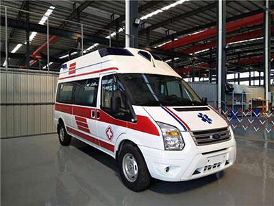 江苏杨总来电表示福特全顺V348救护车非常实用