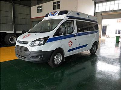 老客户杨总又订购一台福特全顺V362救护车