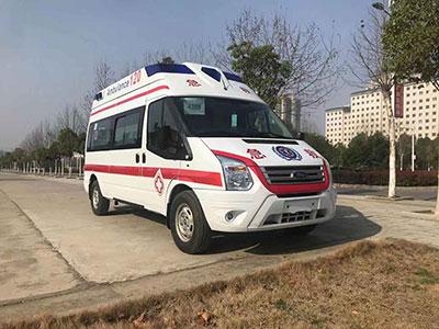 2台福特全顺V348救护车订购成功