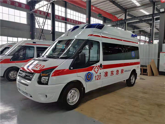 福特新全顺V348救护车多少钱