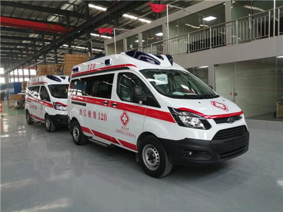 福特救护车_福特新全顺V362救护车为爱护航