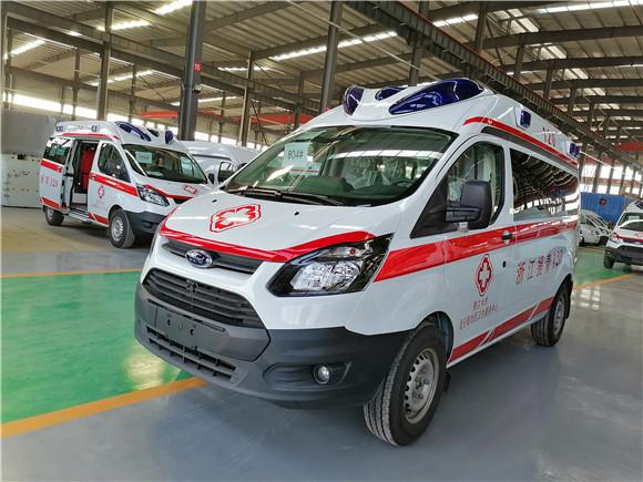 福特全順航空版監護型救護車多少錢一輛