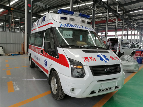 CLW5040XJHJ6福特救护车_福特V348长轴高顶救护车价格