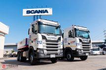 V8百吨王斯堪尼亚泰国交付S5606x6重型牵引车