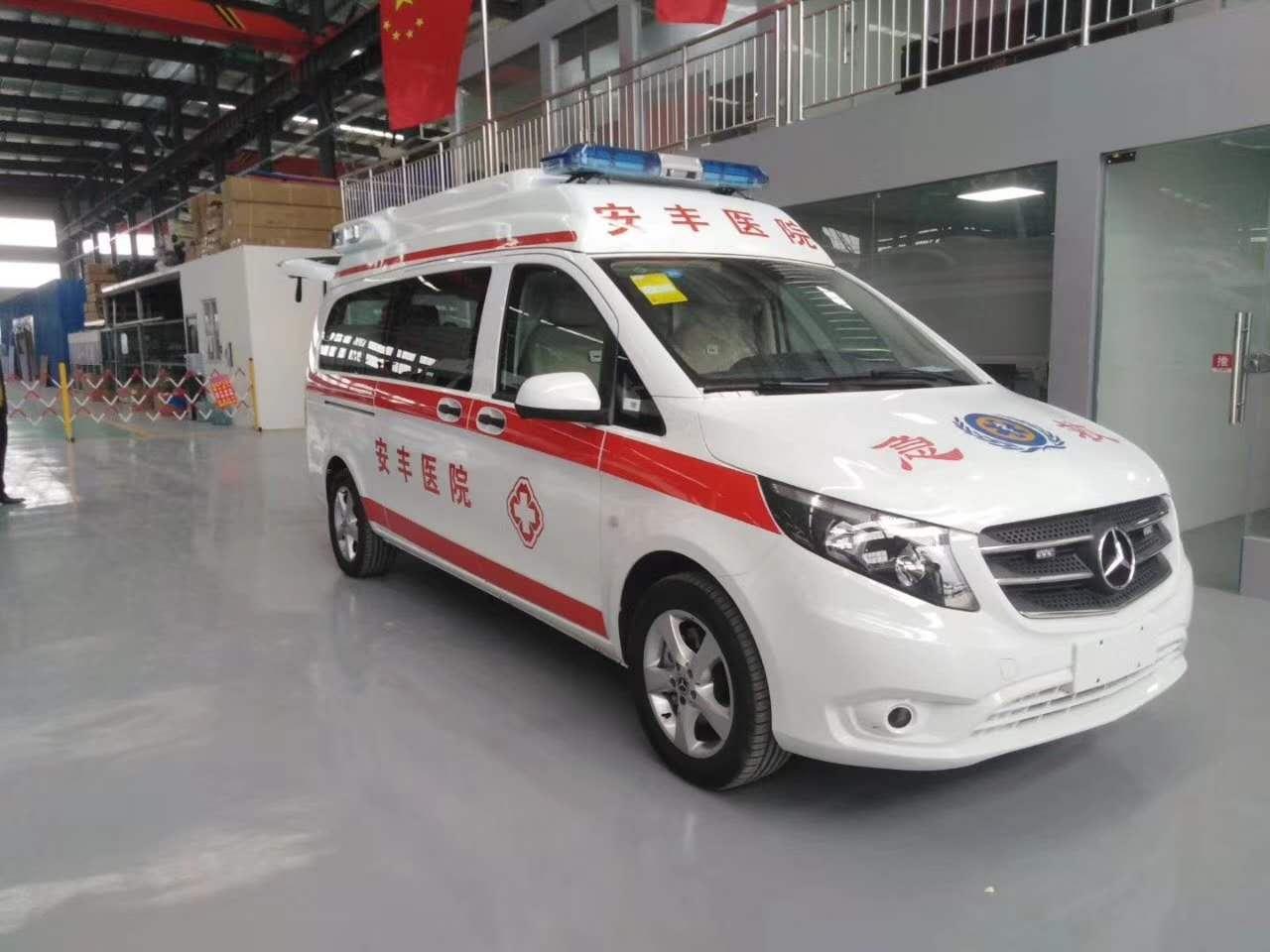 國六奔馳120救護車現車