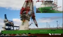 重大事故!利勃海尔5000吨浮吊在德国罗斯托克倒塌(多图)︱港口装卸机械
