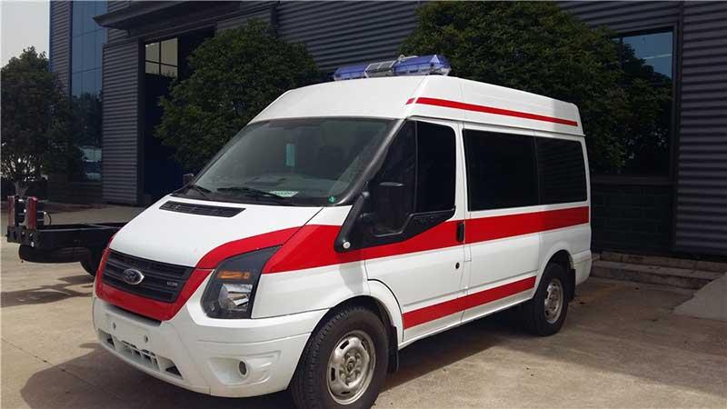 江鈴新世代V348短軸救護車價格