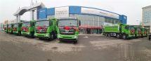 高品质硬实力欧曼法规版自卸车助力企业复工复产