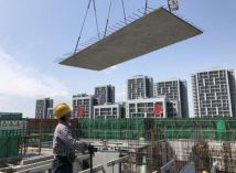 像搭积木一样建房子?新京报记者直击装配式建筑建造过程