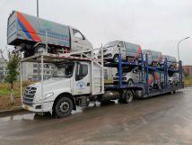 重庆凯瑞特种车压缩式对接垃圾车,强劲助力青海农村环境整治项目