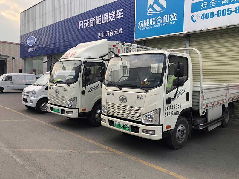 成都市卖新能源电动平板箱式货车哪家最便宜_联系电话_车型相关信息