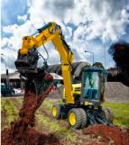 【新品】洋马推出B75W轮式挖掘机
