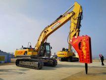 【矿山霸主】雷沃FR560E2-HD挖掘机用实力说话
