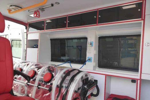 负压救护车与其他两大类救护车较大的差别