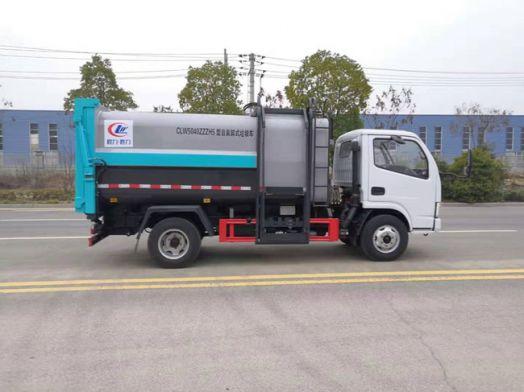 侧装压缩垃圾车和后装压缩垃圾车厂家