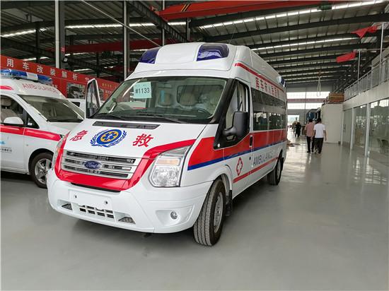 福特救护车/福特救护车配套厂家/福特V348救护车报价