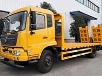东风天锦单桥平板运输车厂家配置说明