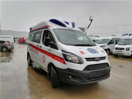 福特救护车--防疫性福特V362负压救护车改装厂在哪里
