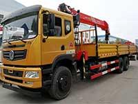 东风T5三一12吨随车吊厂推荐车型