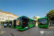 匈牙利古城喜迎史上首批纯电动大巴来自中国品牌欧洲制造