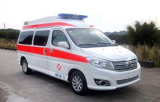 120救护车有哪几种,负压救护车你知道是什么样的吗?