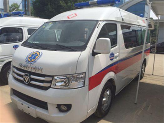福田風景G7救護車怎么樣?