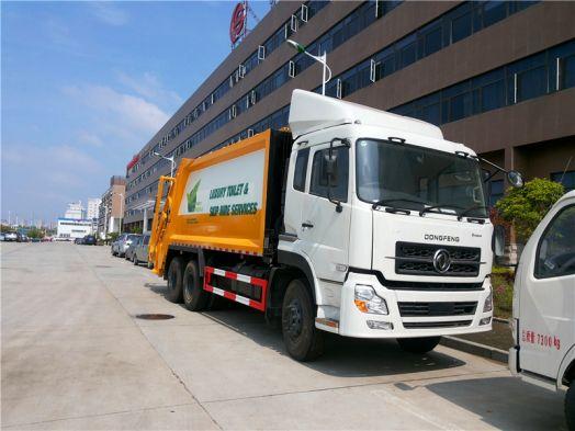 东风天龙18-20方压缩式垃圾车 大型压缩式垃圾车就选它