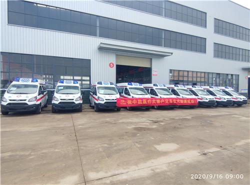 福特V362汽油自动档救护车/负压救护车促销