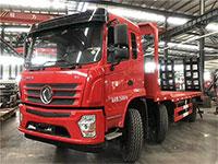 东风D3小三轴平板运输车厂家推荐车型报价