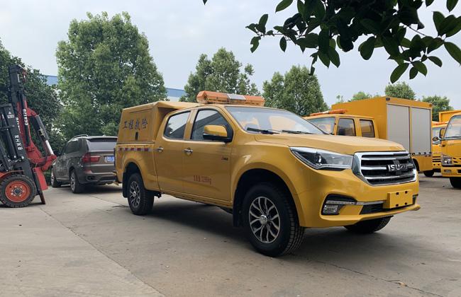 国六皮卡救险车-五十铃抢险救援车多少钱