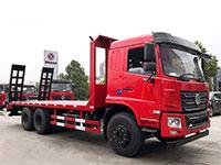 东风F5后八轮平板运输厂家推荐车型报价
