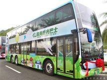 银隆双层巴士:你在看风景,看风景的人在看你