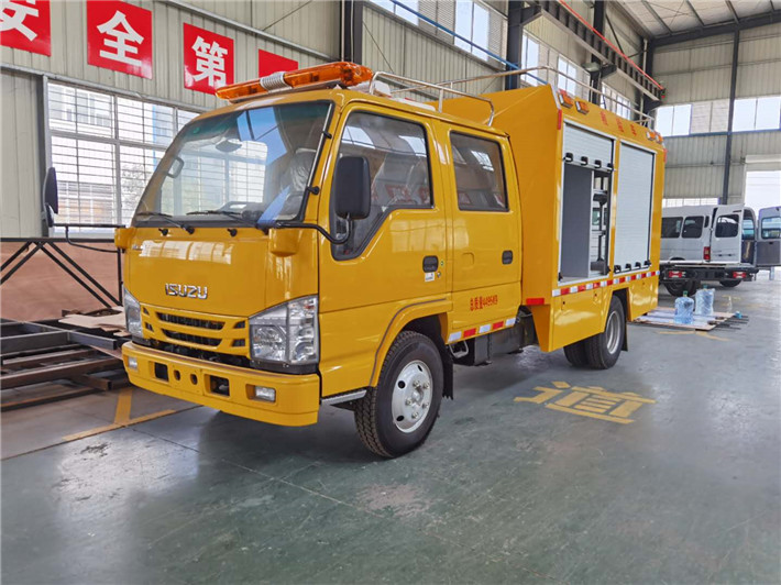 重庆五十铃救援抢险车质量怎么样?多少钱?庆铃工程救险车厂家在哪?