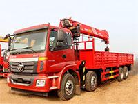 福田欧曼前四后八14吨随车吊厂家推荐车型报价