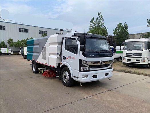 厂家推荐:国六东风多利卡D7扫路车