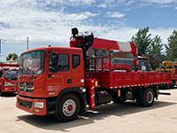 8吨东风多利卡D9随车吊厂家配置说明