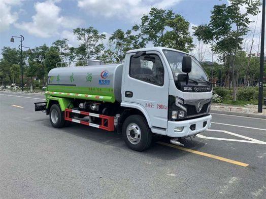 東風D6多卡利5噸灑水車報價