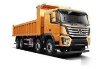 動力強勁大運N8V系列8*4自卸車可靠耐用