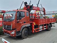 福田瑞沃8噸隨車吊配置說明