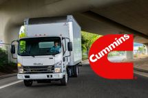 搭載康明斯柴油機的五十鈴中卡?康明斯宣布加強與五十鈴的合作