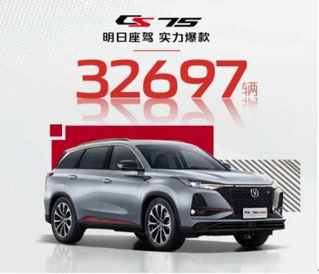 爆款養成記:2021年2月份長安CS75奪得中國SUV銷量冠軍