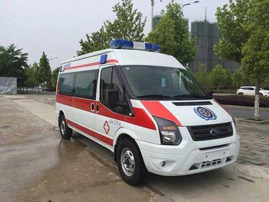 江铃福特v348长轴运输型救护车报价
