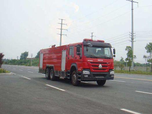 豪沃16噸水罐消防車價格