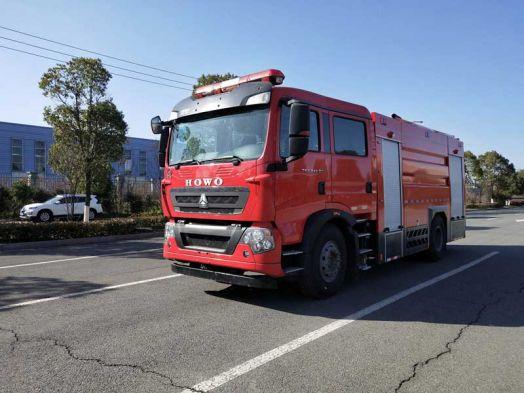 重汽8噸泡沫消防車價格