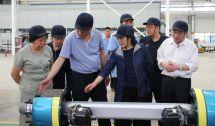 中鋼協副會長、秘書長屈秀麗蒞臨鳳寶特鋼集團調研指導工作