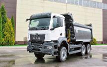 曼恩新款TGS33.5106x6在俄罗斯获2021年度自卸车奖项